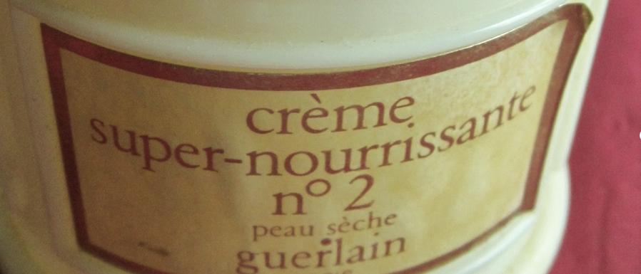 Les crèmes nourrissantes.
